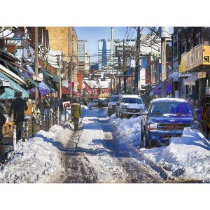 Kensington Market in Winter
